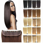 105g 18''/22'' Long Clip in Human Hair Extensions Hairpieces One Piece Only