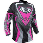 Wulfsport Junior Cub Attack Shirt Pink Motocross Motorcycle Jersey New
