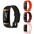 Waterproof Blood Pressure Heart Rate Monitor Sports Smart Watch for iOS Android
