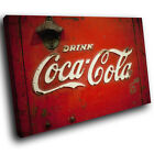 ZAB375 Retro Coca Cola Cool Modern Canvas Abstract Home Wall Art Picture Prints £9.99  on eBay