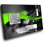 ZAB586 Green Black Grey White Modern Canvas Abstract Wall Art Picture Print