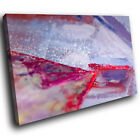 AB1228 red purple cool Modern Retro Abstract Canvas Wall Art Large Picture Print