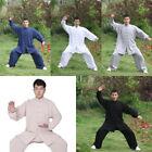 Kung Fu Tai Chi Cotton Uniform Martial Arts Wushu Clothing Taiji Wing Chun Suit