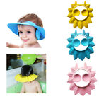 Adjustable Baby Kid Shampoo Bath Shower Cap Ear Cover Hat Wash Hair Shield US