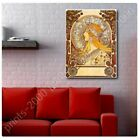 Zodiac by Alphonse Mucha   Poster or Wall Sticker Decal   Wall art picture