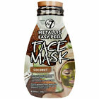 W7 Cosmetics Metallic Face & 3D Sheet Mask with Ultra Hydrating 2 Setp Treatment