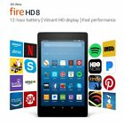Amazon Kindle Fire HD 8 Tablet 16 GB 7th Generation 2017 Free Ship