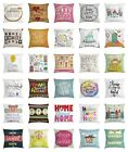 Home Sweet Home Throw Pillow Cases Cushion Covers Home Decor 8 Sizes
