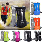 Men Womens Backpack Hydration Pack Water Bladder Hiking Camping Bag Running Vest