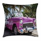 Colorful Cars Throw Pillow Cases Cushion Covers by Ambesonne Home Decor 8 Sizes