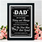 Personalised Father of the Bride Thank You Gifts For Dad Wedding Gifts for Dad