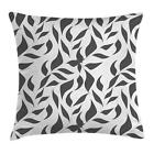 Greyscale Throw Pillow Cases Cushion Covers Ambesonne Home D