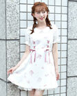 LIZ LISA - Romantic shoes print dress (Japan lolita kawaii harajuku )