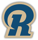 St. Louis Rams NFL Football Symbol Logo Car Bumper Sticker  -9'', 12'' or 14'' on eBay