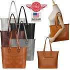 Women Leather Purses and Handbags Shoulder Hobo Crossbody Tote Bag T0002