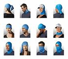 NEW 12 in 1 Multifunctional Gaiter and Headwear Mission Multi-Cool FREE SHIPPING