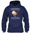 Monkey Ive Been Hiding From Exercise I - I've I'm In Gildan Hoodie Sweatshirt