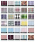 country style drapes - Retro Checkered Kitchen Curtains 2 Panel Set Window Drapes 55
