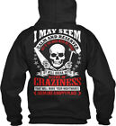 T Roofers Tools - Roofer I May Seem Calm And Reserved Gildan Hoodie Sweatshirt