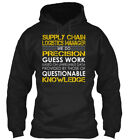 logistics managers - Supply Chain Logistics Manager - We Do Precision Guess Gildan Hoodie Sweatshirt