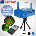 Remote+Mini R&G Auto/Voice LED Stage lights Stage Laser Projector KTV Xmas Decor