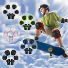Bike Knee Pads and Elbow Pads with Wrist Guards Protective Gear for Kids