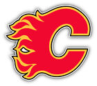 Calgary Flames NHL Hockey Logo Car Bumper Sticker Decal -   3'', 5'' or 6'' $3.75 USD on eBay