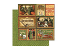 Graphic 45 Master Detective Collection 12 x 12 Card Stock