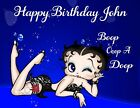 Betty Boop Personalized Edible Image Premium Cake Topper Frosting Sheets 5 Sizes $18.99 USD on eBay