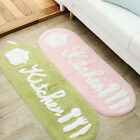 Door Kitchen Mat Bathroom Polyester Non slip Doormat Rug Sho