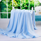 Summer Breathable Bamboo Fiber throws Coverlet Blanket Air Conditioning blankets