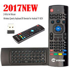 MX3 Air Mouse Mini Wireless Keyboard Remote Control with Mic For Android TV BOX