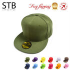 2018 Men Blank Plain Snapback Hats Unisex Hip-Hop Adjustable Bboy Baseball Cap