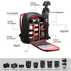 UNHO Large Camera Computer Backpack Bag Rucksack DSLR Case for Canon Nikon Sony