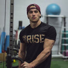 Marc Fitt Rise Athlete Fitness Fashion Muscle Bodybuilding T-shirt 2018 HOT