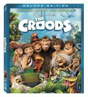 DREAMWORKS THE CROODS DELUXE EDITION 3 DISC SET BLU-RAY 3D DVD DIGITAL NEW