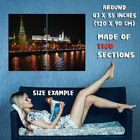 162932 Moscow Russia Wall Print Poster UK