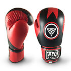 Wyox Boxing Gloves Deal Hand Wraps Gel Inner Gloves Training Sparring Muay Red