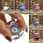 Owl Steel Elastic Dial Quartz Analog Clamshell Finger Ring Watch Women Men Gift image