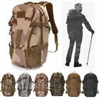 Outdoors Camouflage Camo Military Style Backpack Rucksack Shoulder Bag Hiking
