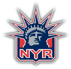 New York Rangers NHL Hockey Head Logo Car Bumper Sticker Decal - 3'' or 5'' $3.75 USD on eBay