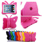 Kids EVA Butterfly Shockproof Stand Case Cover For iPad 2 3 4 5 6 7 Air Mini Pro