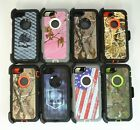 For Apple iPhone 8 / 8 Plus Camo Case [Belt Clip Fits Otterbox Defender Series]