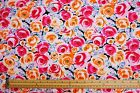 Patterned STRETCH COTTON SPANDEX/ SATEEN Floral Dressmaking Skirt Trouser Fabric