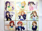 Love Live! The School Idol Movie Limited Autograph Board Nozomi Eli Kotori Maki.