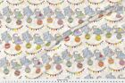 Circus Elephant Animals Whimsical Fabric Printed by Spoonflower BTY