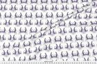 Cat Cat and Mouse - Rich Purple Fabric Printed by Spoonflower BTY