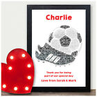 Page Boy Best Man Usher Personalised Thank You Gifts Football Wedding Party Gift