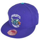 NBA Mitchell Ness TK07 Charlotte Hornets Purple Second Fitted Hat Cap on eBay