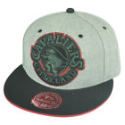 NBA Mitchell Ness Cleveland Cavaliers TV28 XL Logo Heather Fitted Hat Cap on eBay
